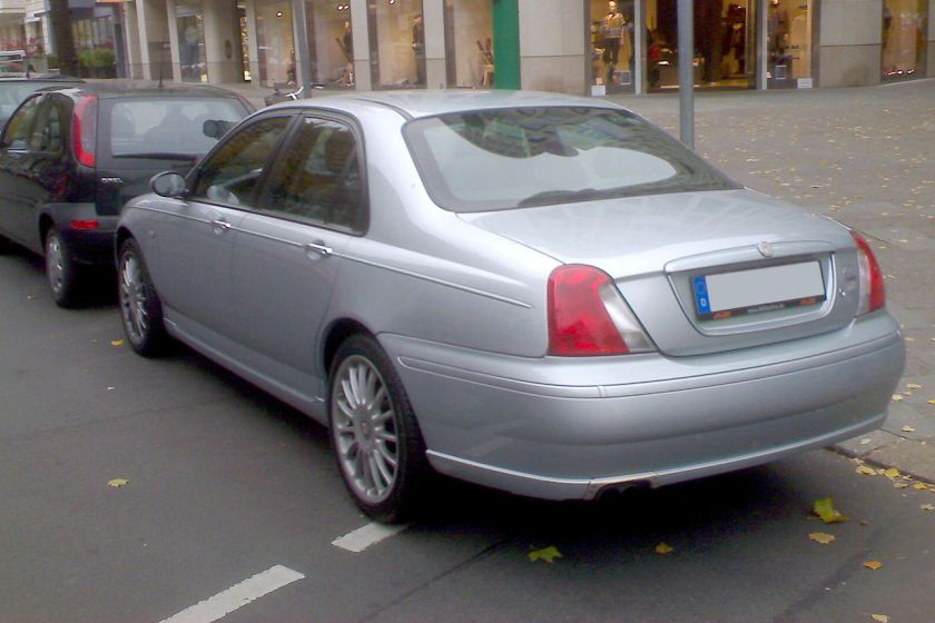 2001-04-mg-zt-sedan-silver-rear
