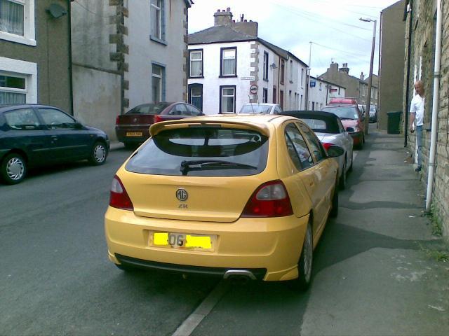 2006-mg-zr180-rear