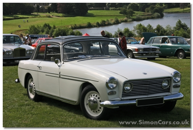 Bristol 408 MkII. Introduced in 1965, the MkII gained a larger 5211cc V8 engine with a cast alloy gearbox