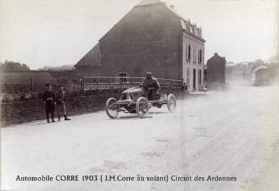 Corre-1903-Ardennes-400 Maurice Farman Panhard