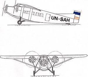 Farman F.306 Skica