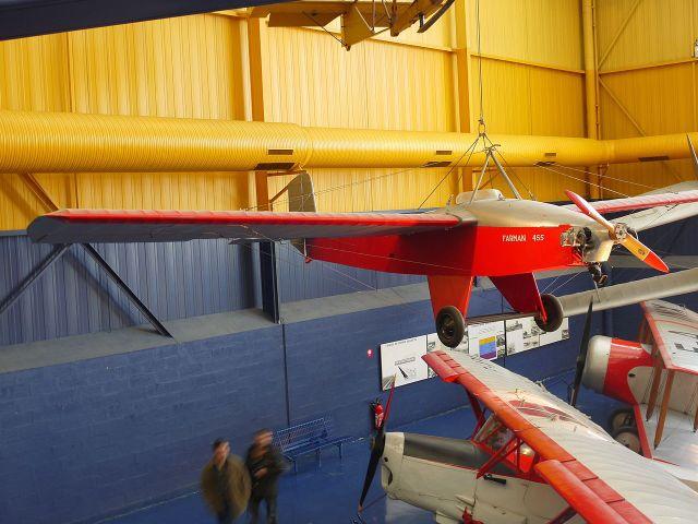 Farman F 455 Super Moustique, Muséedel'Airetdel'Espace, LeBourget, Paris