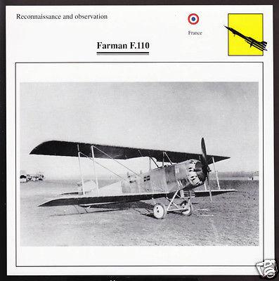 farman-f110-france-war-airplane-atlas-picture-card