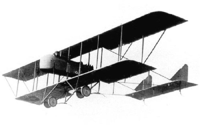 Farman MF.11 Shorthorn bomber aircraft