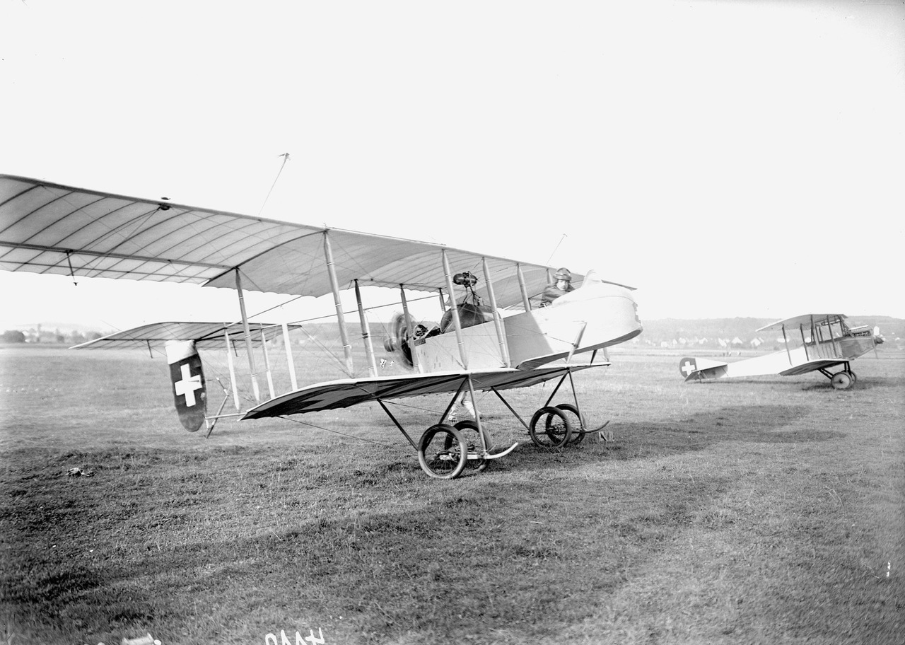 HF-20 of the Swiss Air Force during the First World War