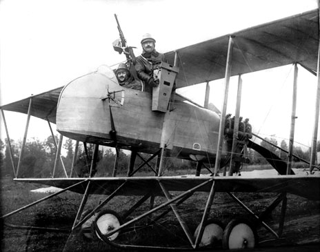 Maurice Farman MF11 WW1 aircraft reco