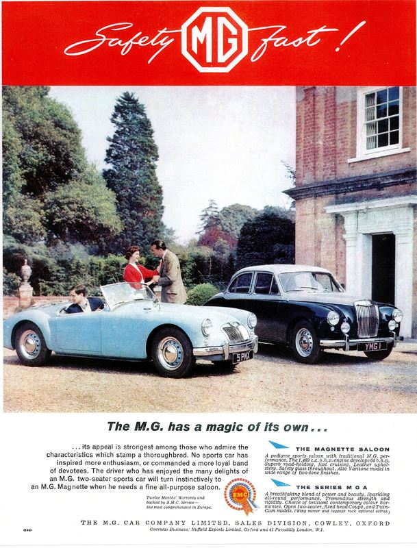 mg-a-and-mg-magnette-saloon-ad