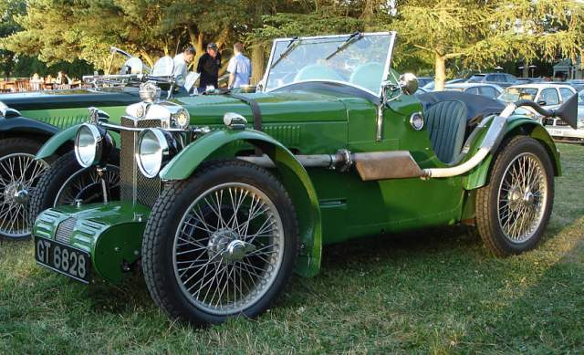 mg-c-type-competition-car