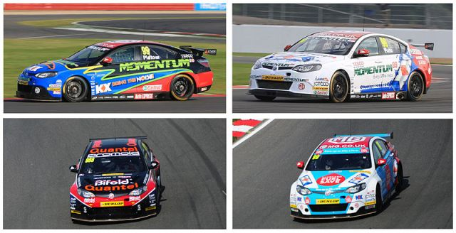 mg-triple-eight-btcc-cars-2012-to-2014