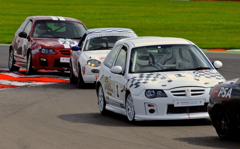 MG Racing at Snetterton
