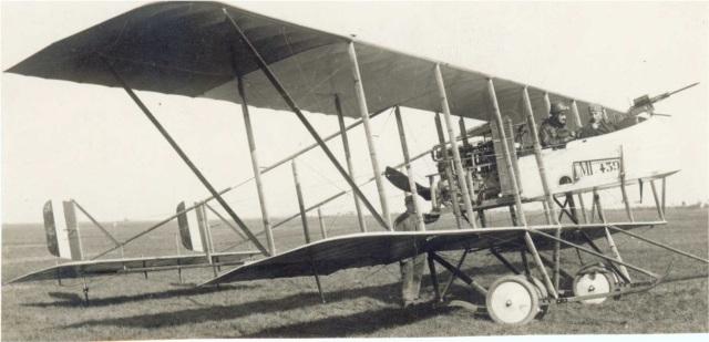 World War 1 - Italian Army Second Battle of the Isonzo - Farman MF.11 Shorthorn light bomber of the Italian air force