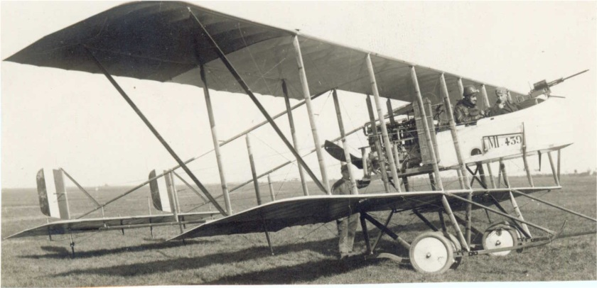 World War 1 - Italian Army Second Battle of the Isonzo - Farman MF.11 Shorthorn light bomber of the Italian air force