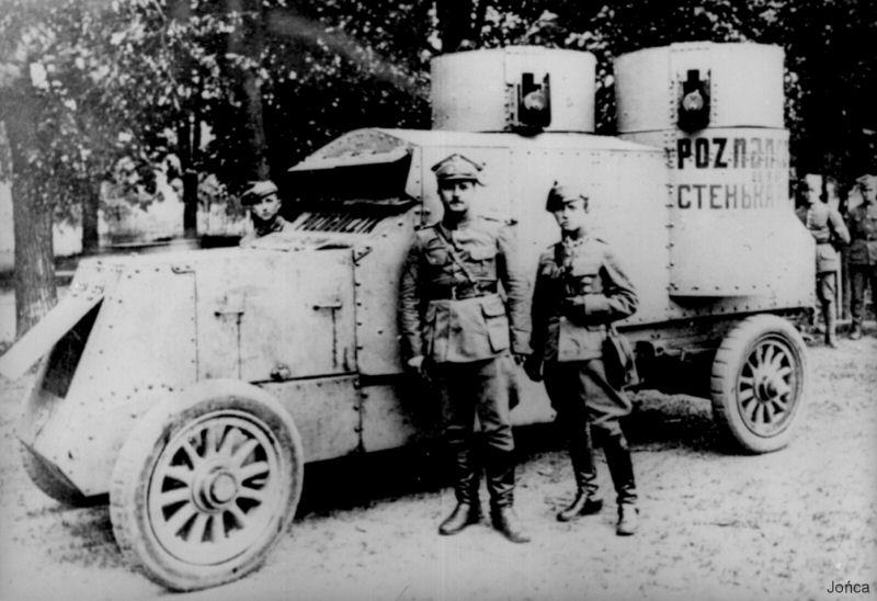 1920-austin-putilovets-poznanczyk-near-bobruysk