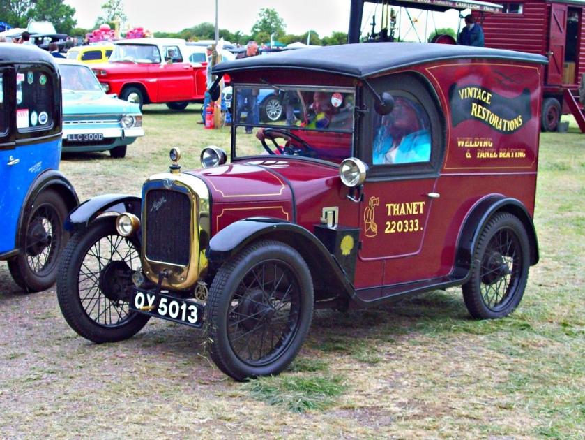 1929-austin-seven-van