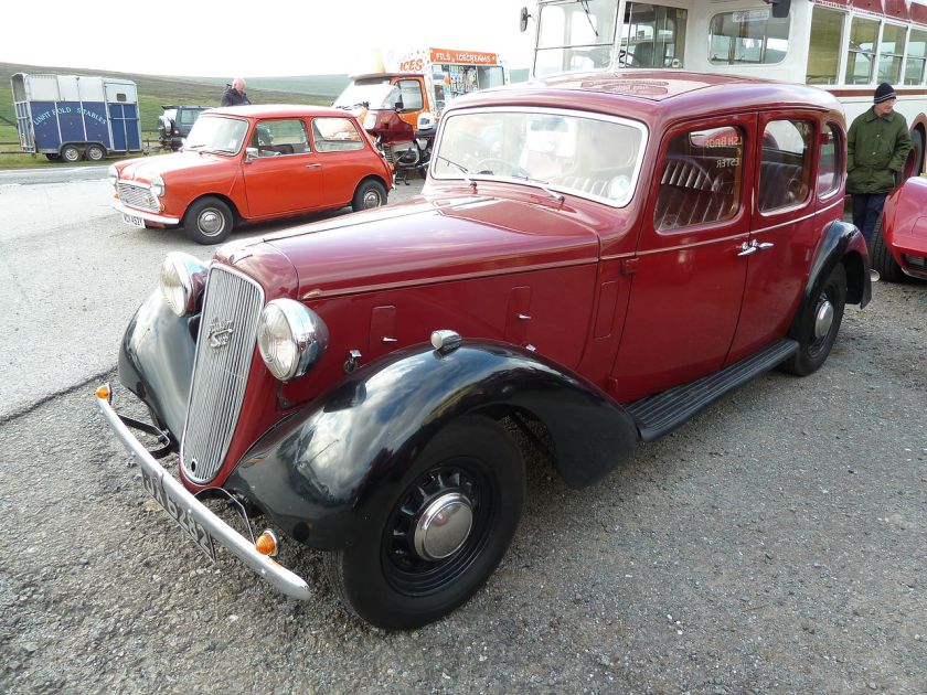 1938-austin-14-6-goodwood-at-haworth-first-registered-11-march-1938-2090-cc-dvla