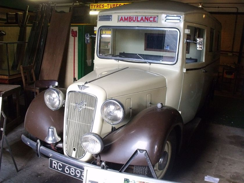 1939-austin-six-ambulance-dating-from-1938-1939-dvla-first-registered-6-january-1939