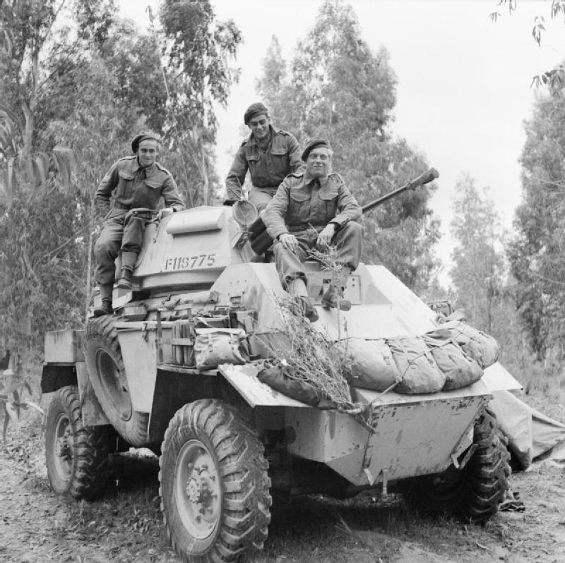 1943-humber-mk-ii-armoured-car-and-crew-of-b-squadron-11th-hussars-tripoli-2-february-1943
