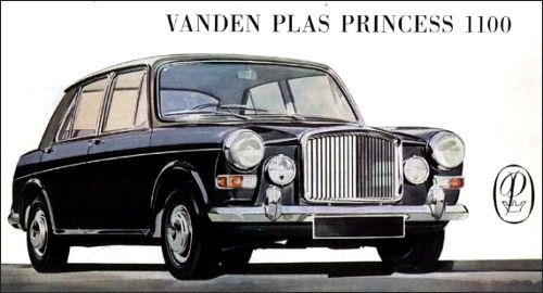 VANDEN PLAS PRINCESS 1100 MK1 MK2 1963-DIC 1967 Brake Master Cylinder Seal Kit
