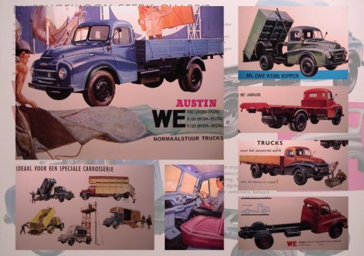 Parts & Accessories Manuals & Literature Hearty Steyr Trucks Die Mittelschweren Brochure Lkw Prospekt