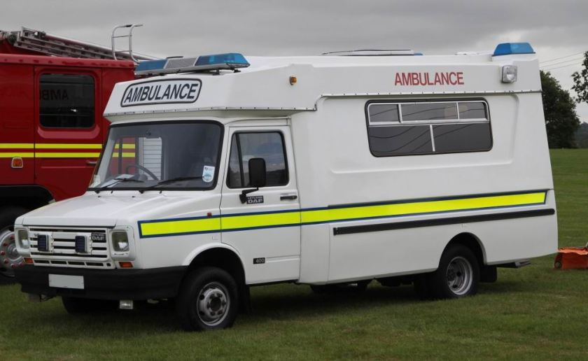 Leyland-Daf 400 V8 1991 Ambulance by 'Mountain'