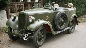austin-7-military-reconnaisance-tourer-wedding-car
