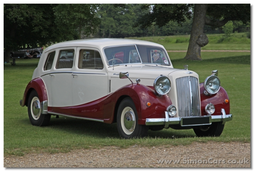 Austin A125 Limousine DM1. An extended wheelbase limousine version of the Austin sheerline was offered, but it was not a success