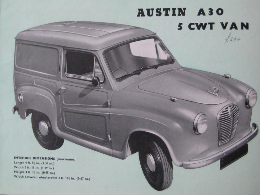 austin-a30-van