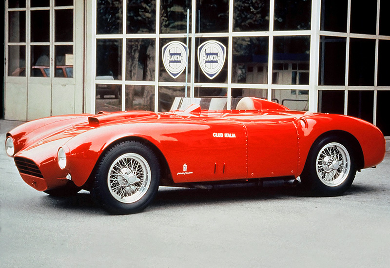 1953 Lancia D24 Pininfarina Spider Sport; top car design rating and specifications