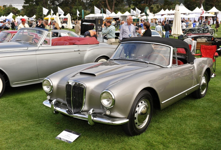 1956 Lancia Aurelia B24s Spider Boasts A Race