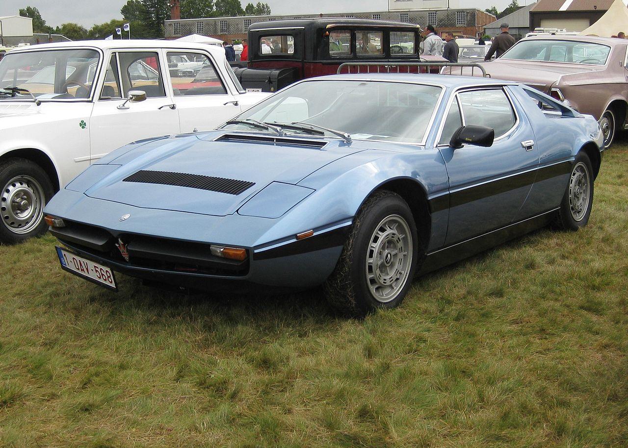 ... Maserati Merak 2000 Gt Ie A V6 Tax