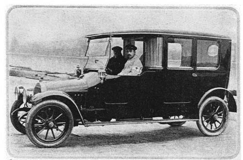 1912 1913 Fiat Of Opel Ambulance Groningen Bakker Emmamij 1913 2