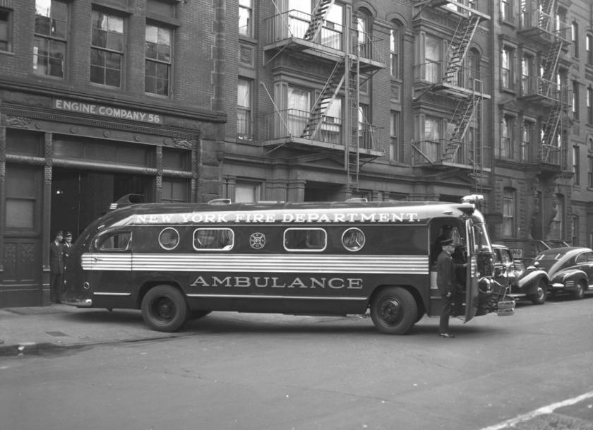 1949 FDNY ambulance