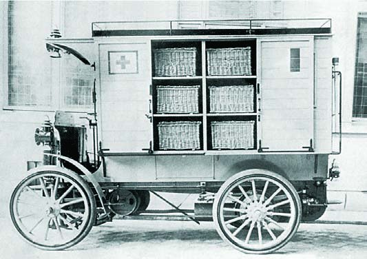 De Dietrich Ambulances Van 1900 1902 1912