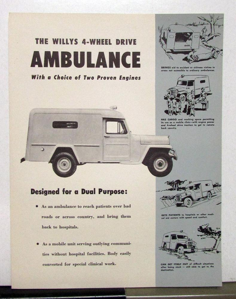 c6cabdc9cb JEEP – Kaiser – Willys – Willys Overland – Holden – Horton Quick Responders  and Ambulances