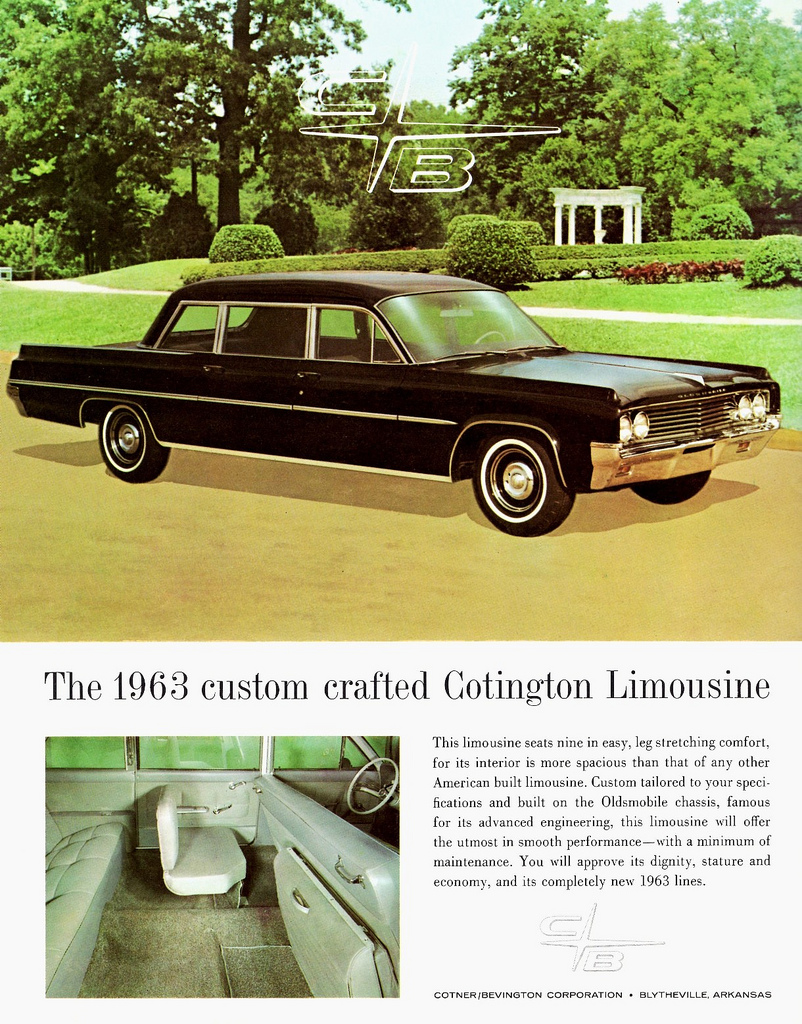 Commer Myn Transport Blog 1961 Dodge Seneca Dart Wiring Diagram Cotner Bevington Coachbuilders Mostly On Oldsmobile Chassis But Sometimes Also Buick And Pontiac
