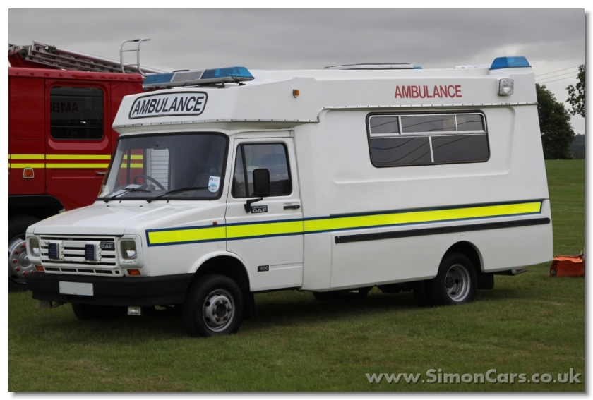 Leyland Daf 400 V8 1991 Ambulance By Mountain