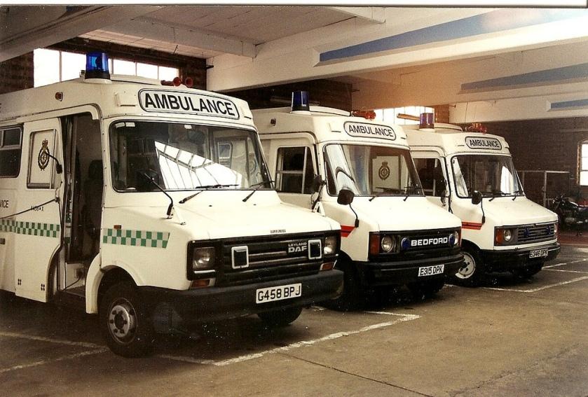 DAF Leyland YA Trucks Sherpa Army