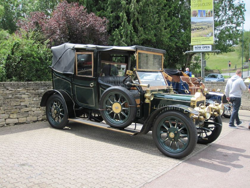 1910 Standard 30HP cabriolet Veteran Car Club of Great Britain Cotswold Caper