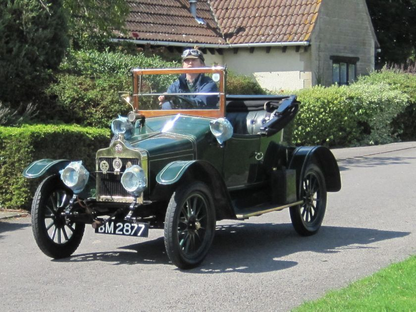 1913 Standard Model S 9,5hp Rhyl 2-seater tourer