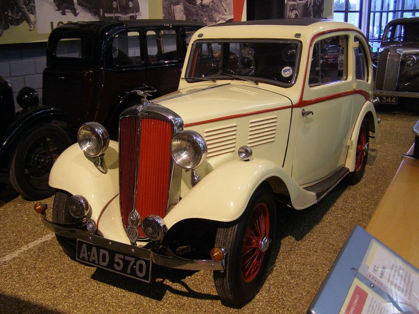 1934 Standard 10-12 Speedline sports coupé