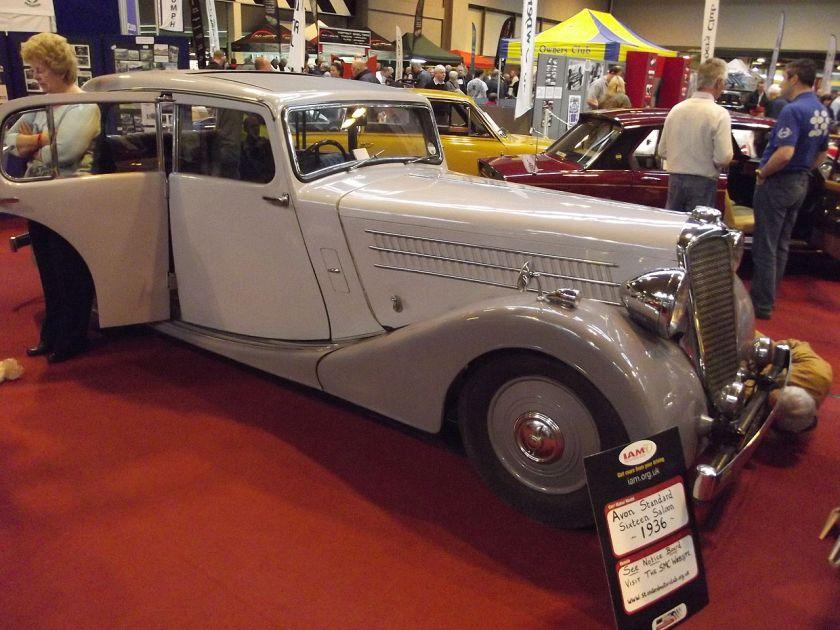 1936 Avon Standard Sixteen Saloon 1936