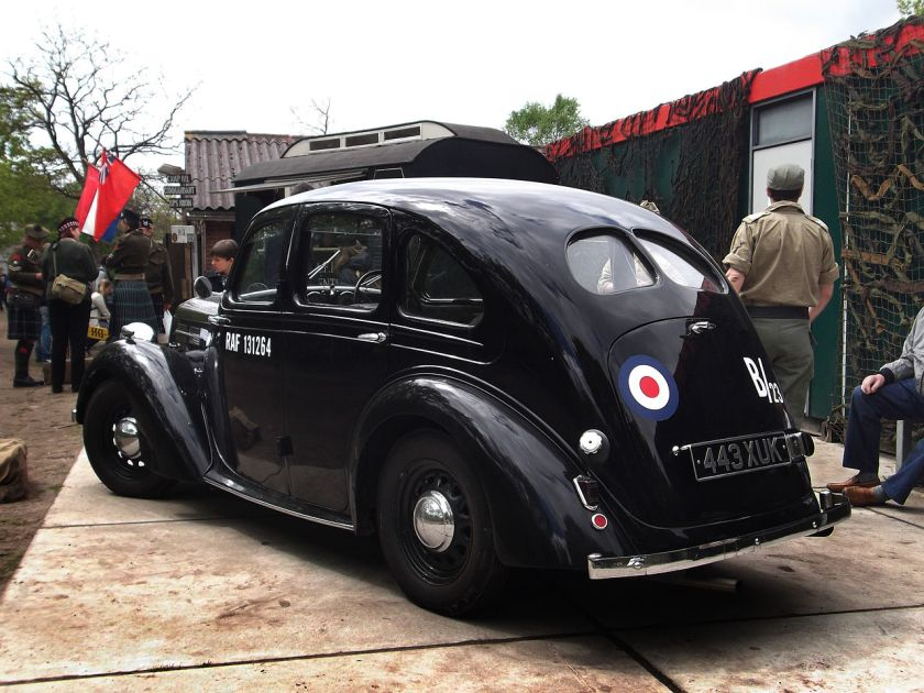 1937 Standard Flying Twelve 4-door saloon RAF