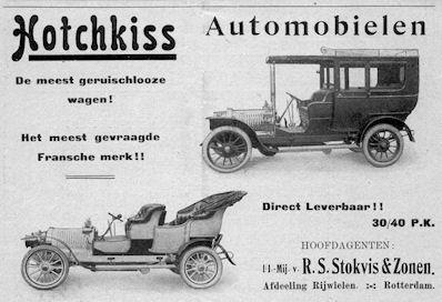 1906 hotchkiss stokvis ad