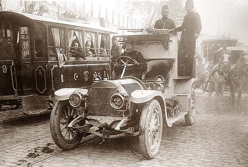 1909 Hotchkiss type V 40-50HP Armored car