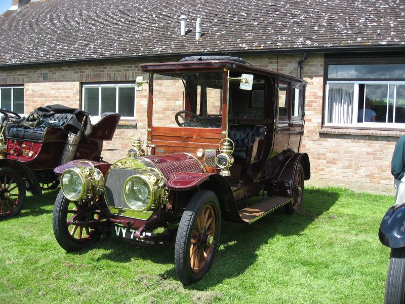 1910 Hotchkiss Limousine VY 7777 4cyl 20-30 hp car.no. 1785 engine no. 1104 b