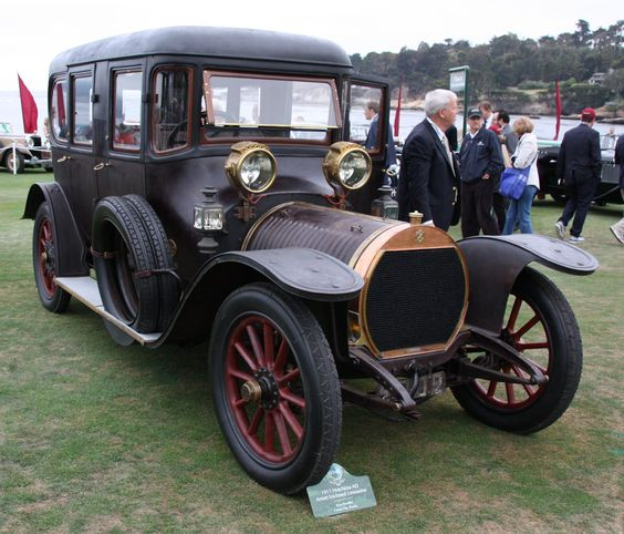 1911 Hotchkiss AD Amiet Enclosed Limousine