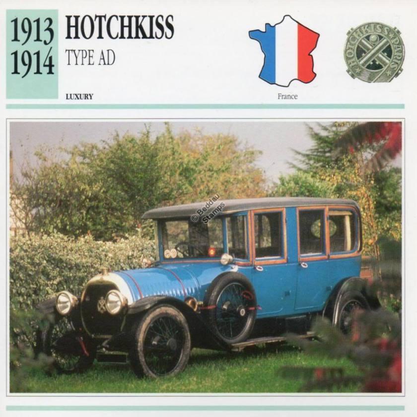 1913-1914 HOTCHKISS Type AD