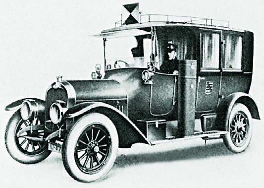 1913 Audi 18-45PS, Staff Car