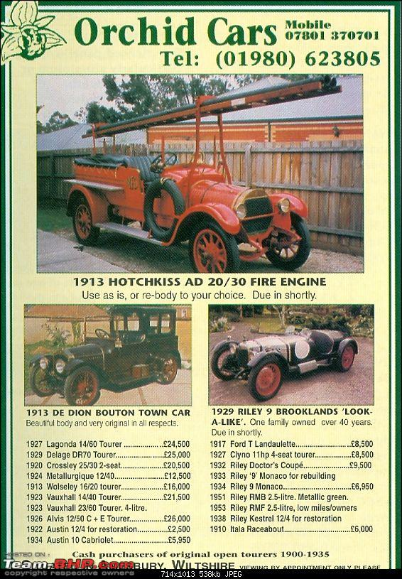 1913 Hotchkiss AD 20-30 Fire engine