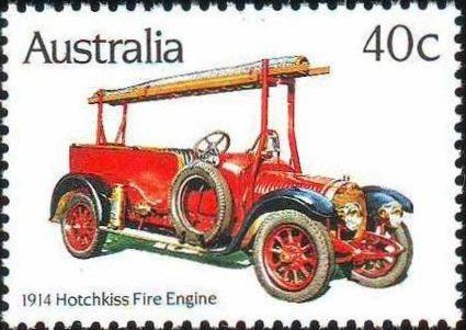 1914 Historic Fire Engines- Hotchkiss